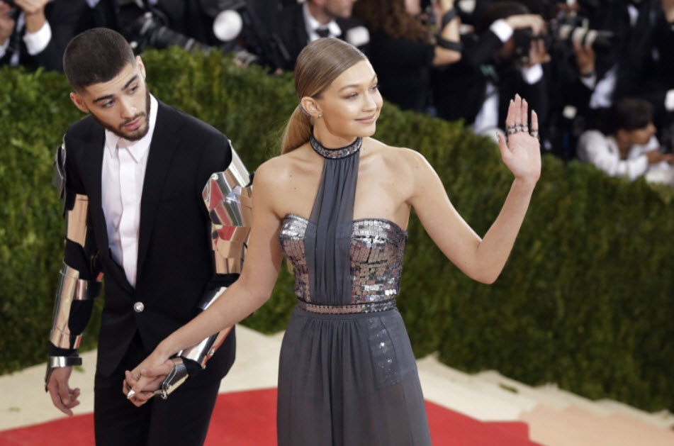 Zayn Malik and Model Gigi Hadid are Officially New Parents