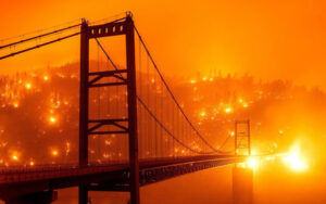 America Wildfire Update: Big wildfires spreading in the whole California [View Photos]
